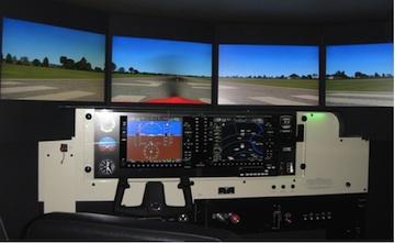 Used Redbird Flight Simulator